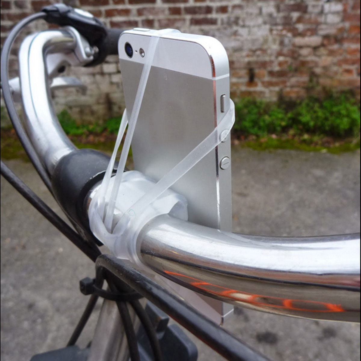 CB70-Universal-Silicone-Elastic-Strap-Bicycle-Bike-Mount-Holder-For-Cell-Phone