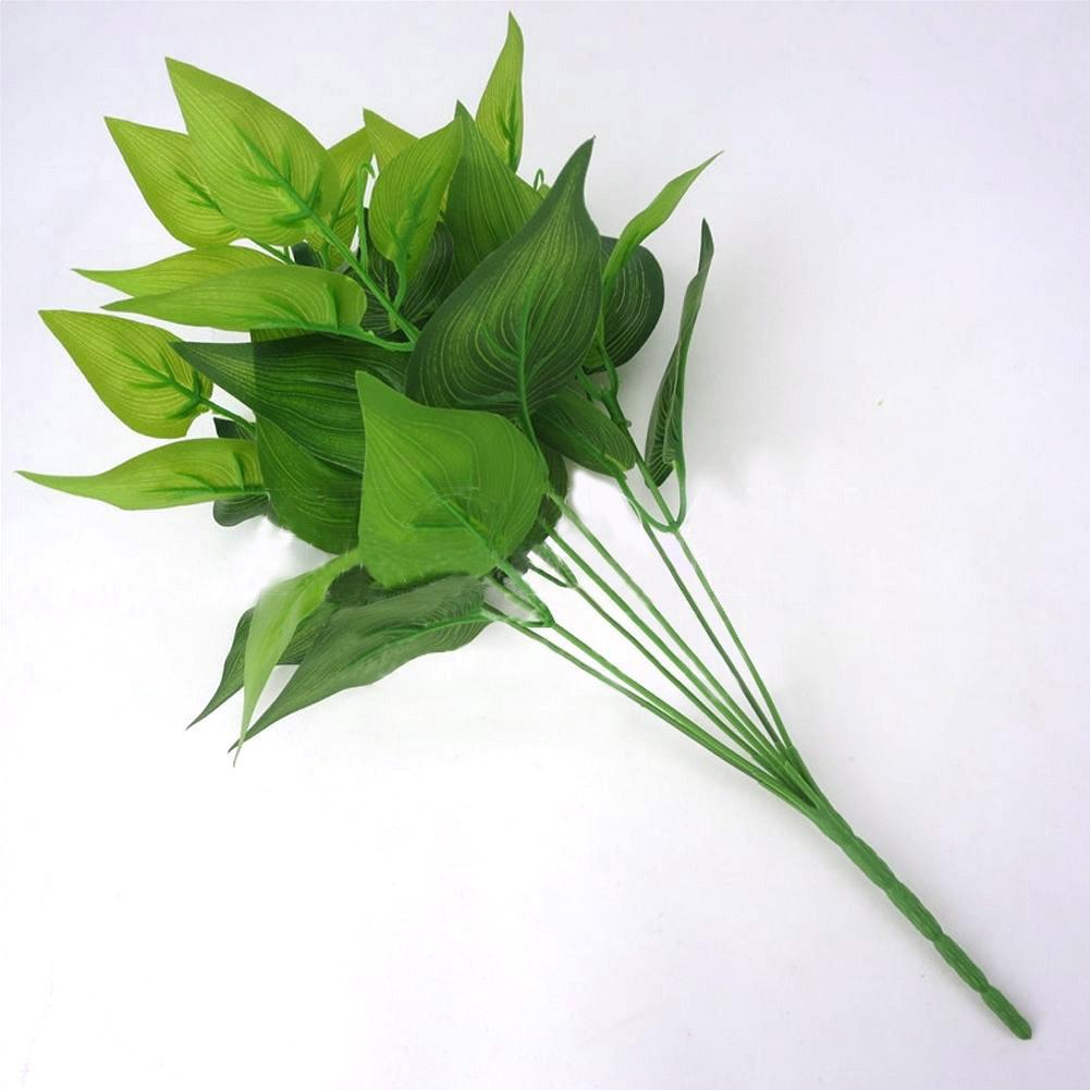 DEC3-Artificial-Plants-Indoor-Outdoor-Fake-Flower-Leaf-Foliage-Bush-Home-Decor
