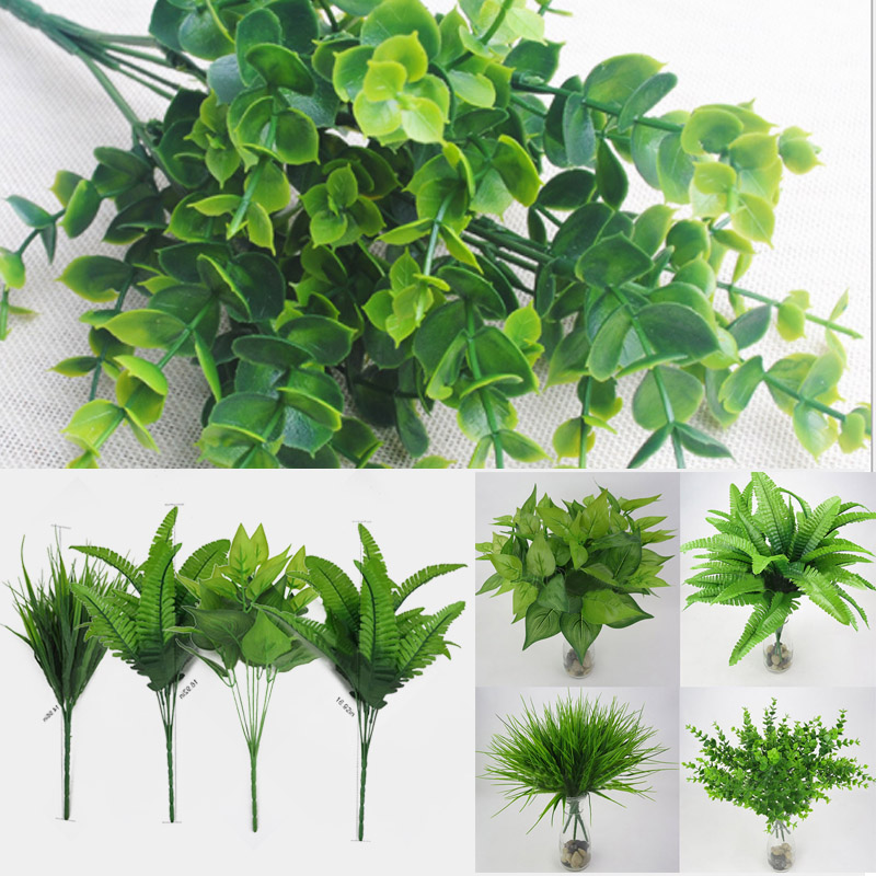 9F7F-Artificial-Plants-Outdoor-Fake-Flower-Leaf-Bush-Home-Office-Garden-Decor