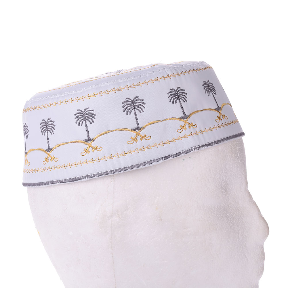 5B5D-Boy-Men-Kufi-koofi-Hat-Topi-Skull-Cap-Islamic-Muslim-Prayer-Head-Wear-Hot