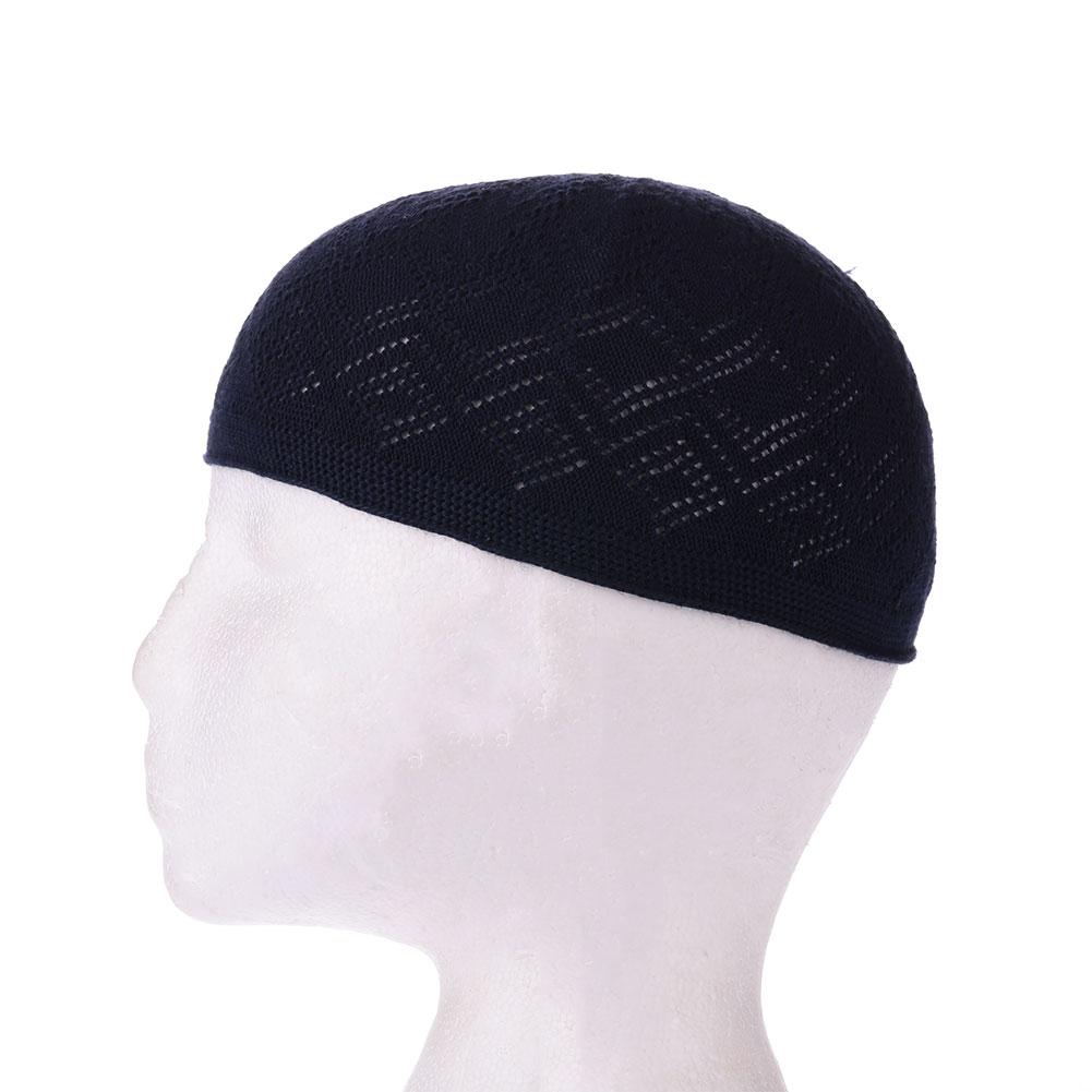 5B5D-Boy-Men-Kufi-koofi-Hat-Topi-Skull-Cap-Islamic-Muslim-Prayer-Head-Wear-Hot