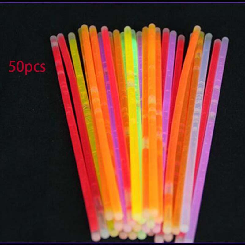 1594-Multicolor-Fluorescent-Glowing-Stick-Party-Luminous-Night-Light-Sticks