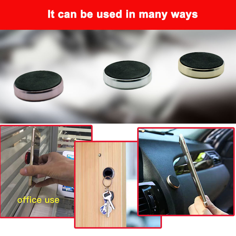 18C1-Office-Car-Van-Universal-General-Magnetic-Mobile-Cell-Phone-Bracket-Holder