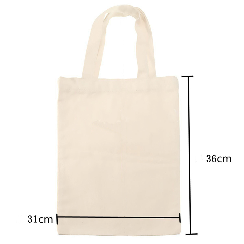 83CC-Creamy-White-Cotton-Large-Canvas-Shopping-Shoulder-Top-Tote-Shopper-Bag