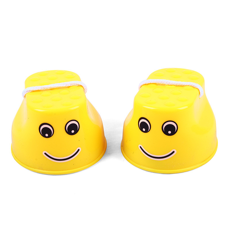 7A2E-Stilts-Children-Toy-Thickened-Plastic-Balance-Training-Smiling-Face-Fun
