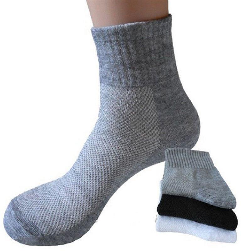 16C6-Men-039-s-Socks-Soft-Cotton-Comfortable-Breathable-Thermal-Sport-Sock-Ankle