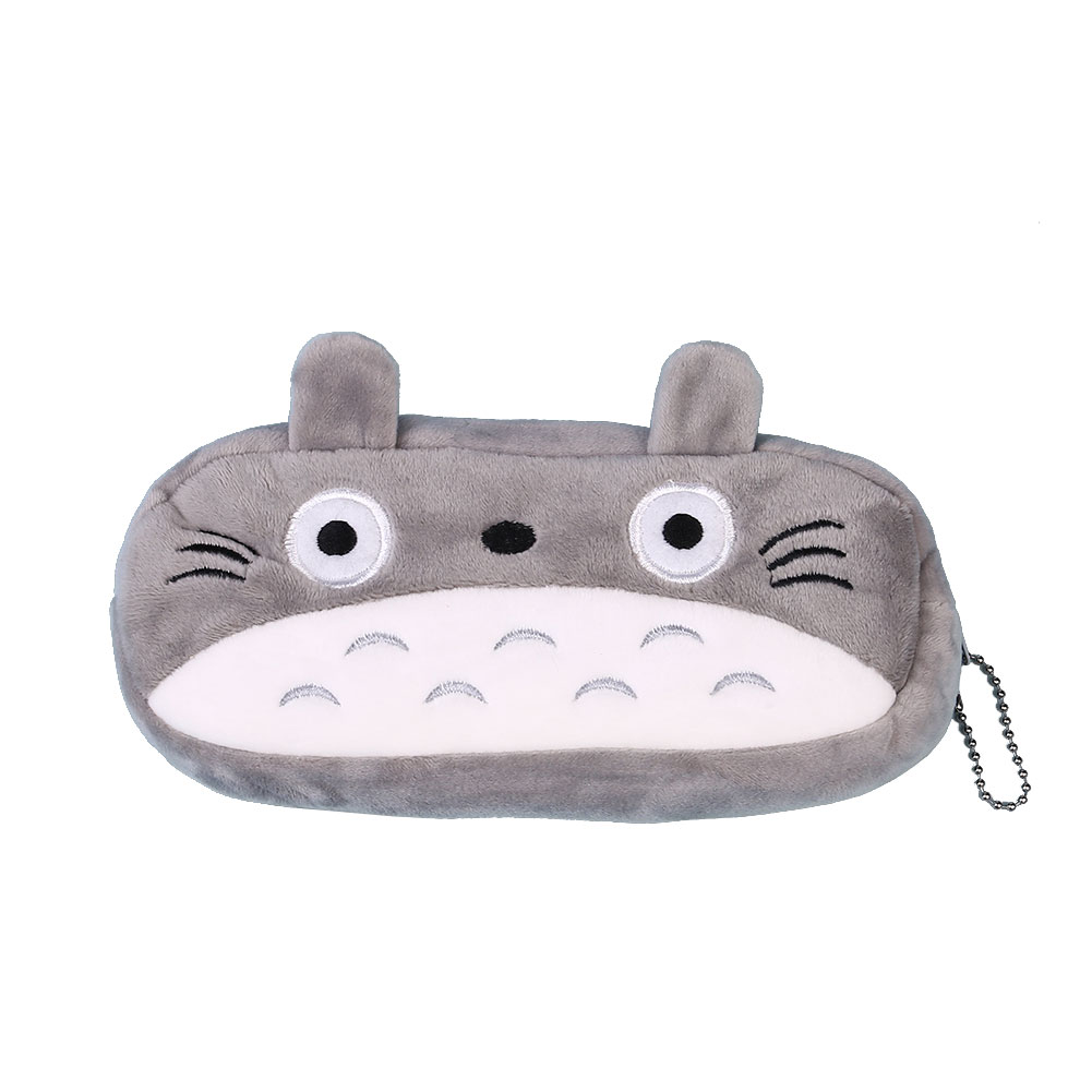 B25C-Cute-Cartoon-Plush-Pencil-Case-Cosmetic-Bag-Container-School-Stationery