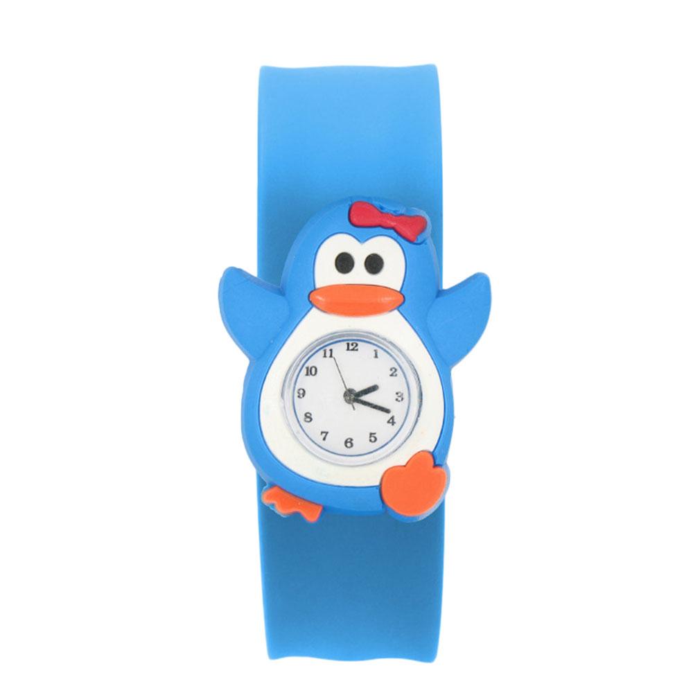 Cartoon-Children-Slap-Snap-On-Silicone-Quartz-Wrist-Watch-Christmas-Gift-8A01