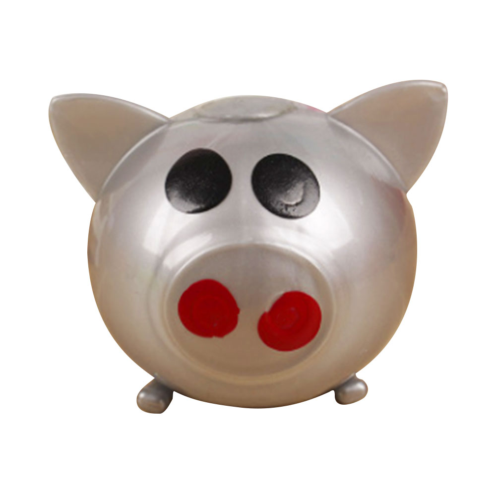 F641-Creation-Novelty-Water-Ball-Pig-Shape-Toy-Decompression-Baby-Bathing-Toys