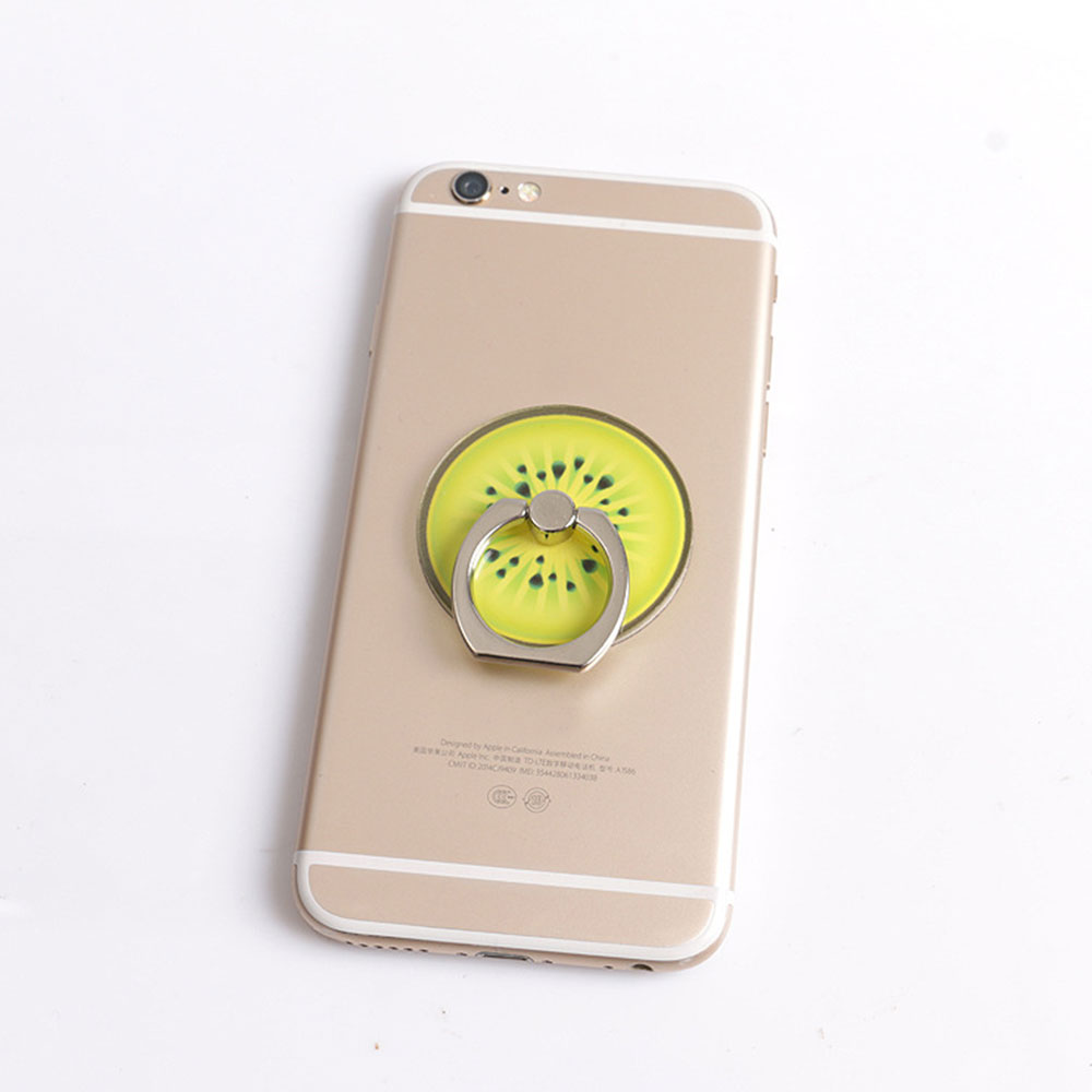 8A12-Fruit-Flash-Phone-Finger-Ring-Spinner-Fidget-Stand-Mount-Holder-Grip-Clasp