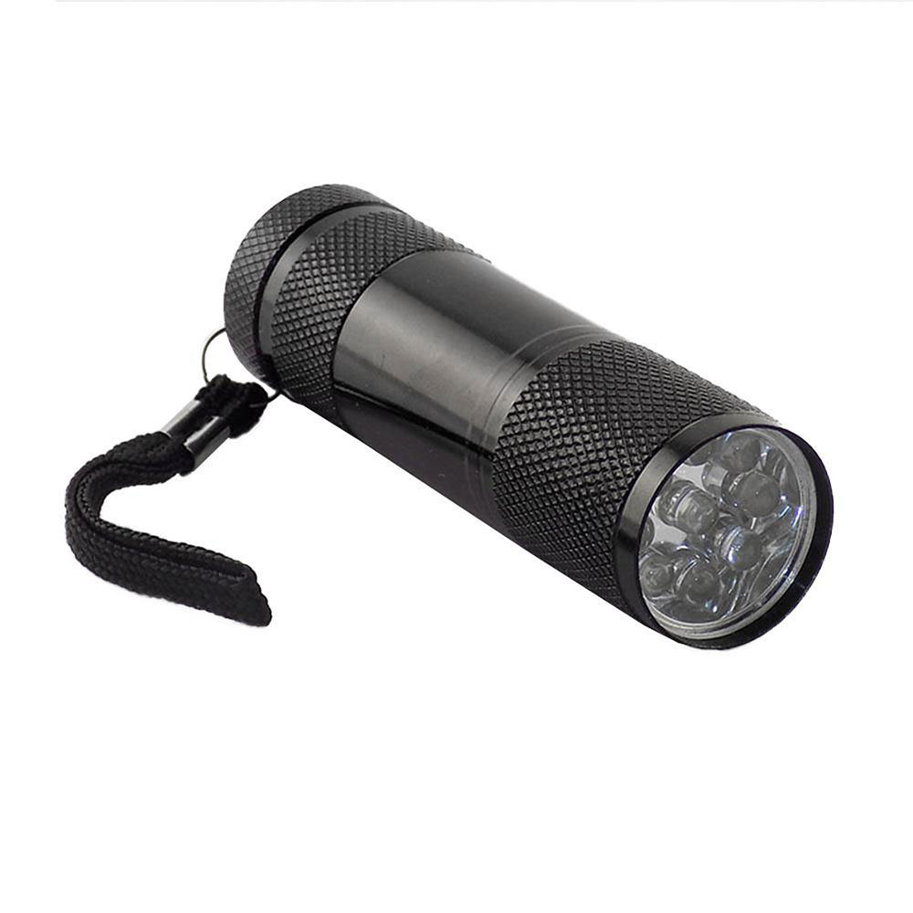 4C43-Flashlight-Electric-Torch-Bright-Useful-Violet-4-2V-Tool-Black-Light
