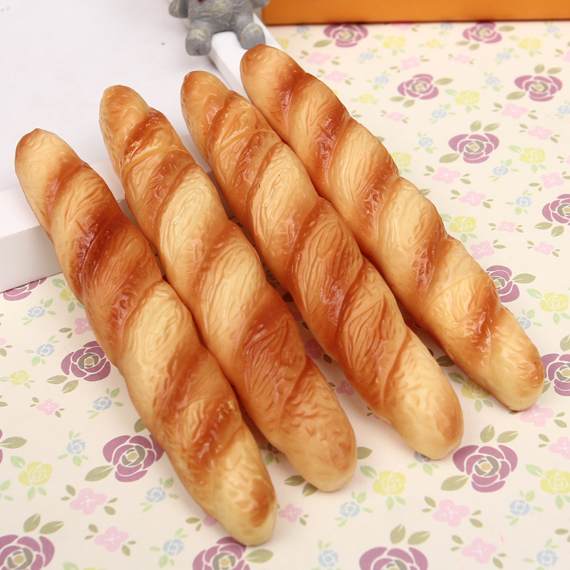 BB98-Pizza-Hot-Dog-Bread-Ballpoint-Pen-Black-Ink-Horn-Fast-Food-School-Learning