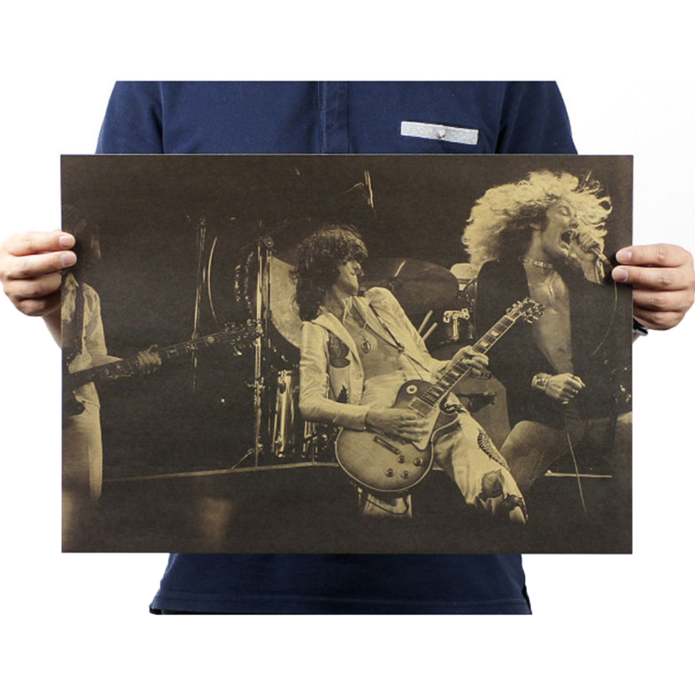 1467-Wall-Stickers-Band-Stars-Picture-Vintage-DIY-Gift-Music-Rock-Poster-SSL