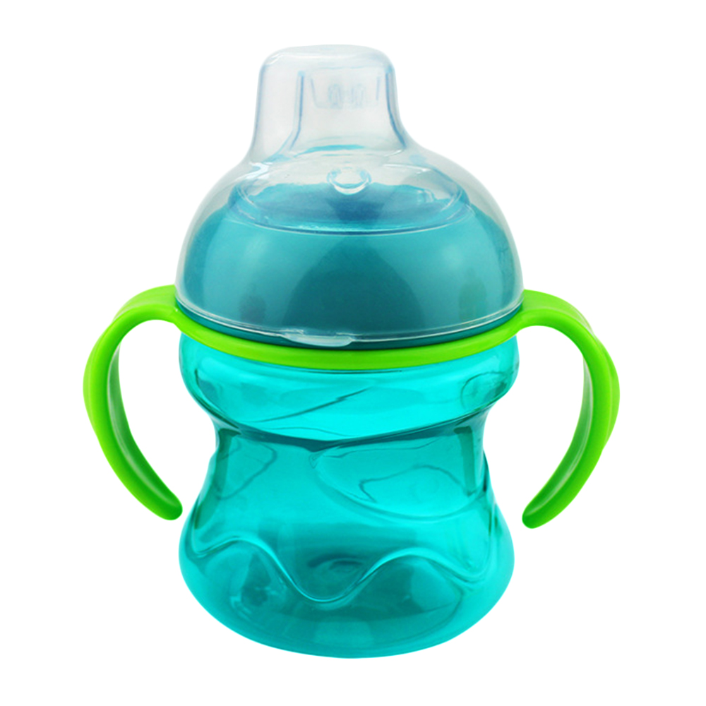 619B-Baby-Cup-Newborn-Cup-Toddler-Training-Feeding-Duckbill-200ML