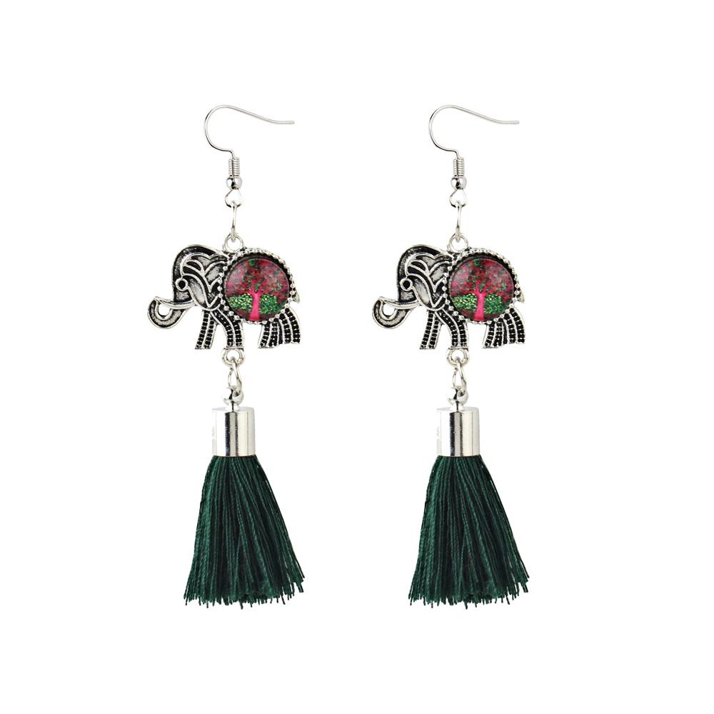 83B7-Animal-Long-Tassel-Drop-Earrings-Retro-Fashion-Accessories
