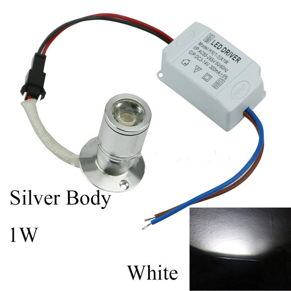 4EDF-Display-Cabinet-Downlight-Spotlight-Bright-Aluminum-1W-Atmosphere-Lamp