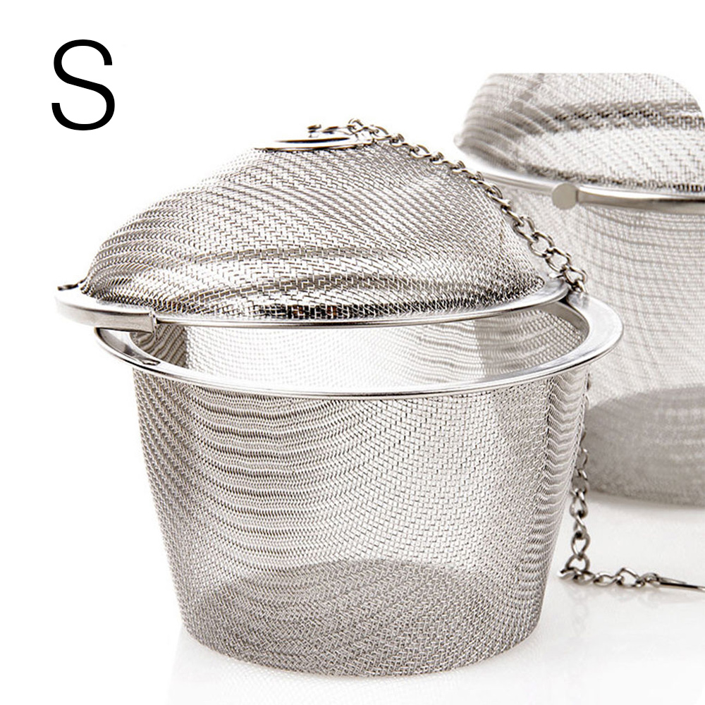 091F-Kitchen-Tools-Cookware-Tea-Infuser-Filter-Practical-Silver-Stainless-Steel