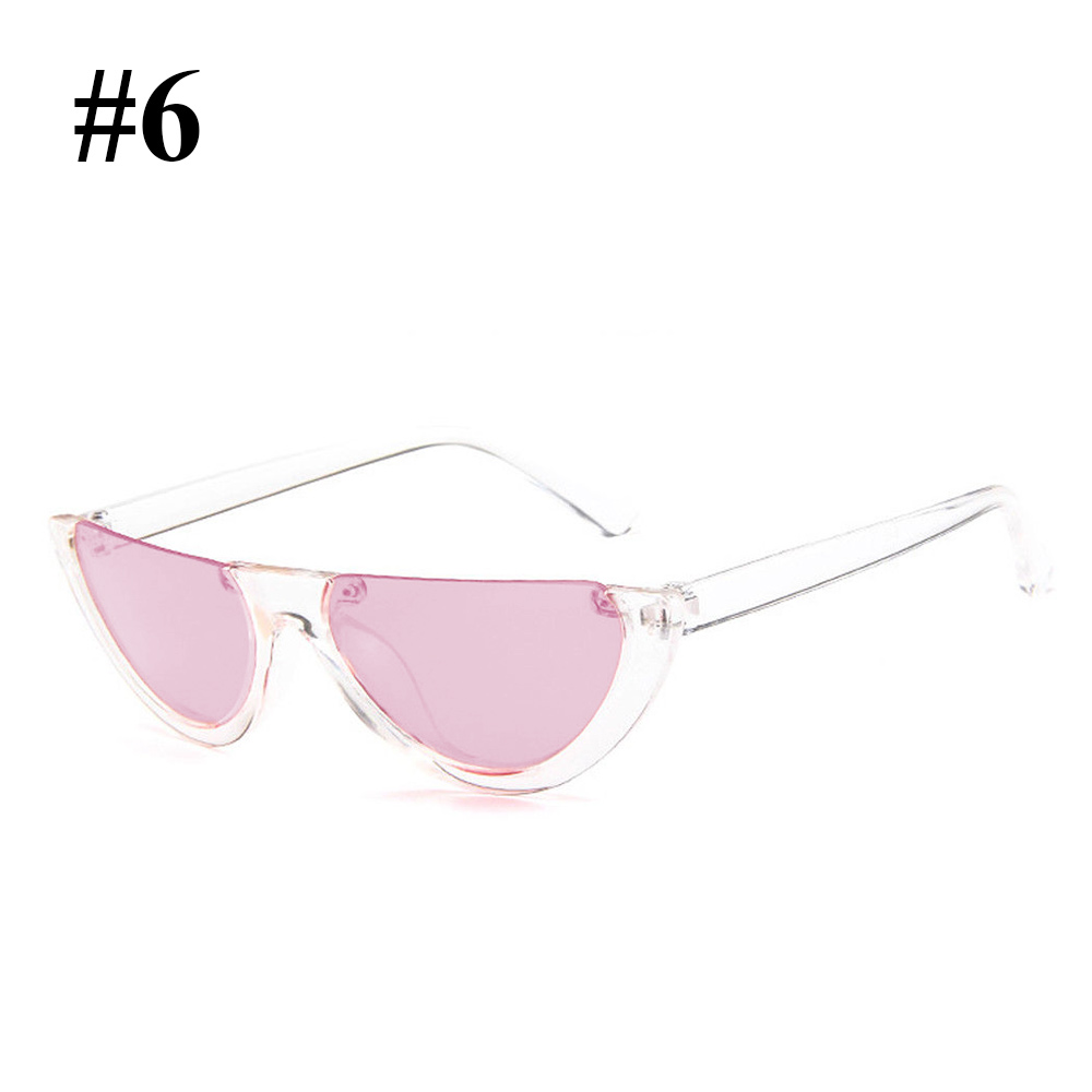 7033-2018-Half-Frame-Cat-Eye-Sunglasses-Sexy-Ladies-Fashion-Eyewear-Retro-HD