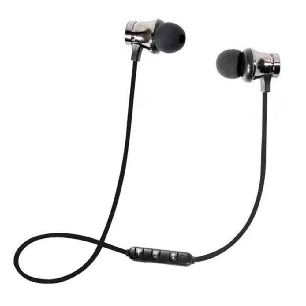 Magnetic-Bluetooth-4-2-Stereo-In-Ear-Headset-Earphone-Noise-Reduction-Sweaproof