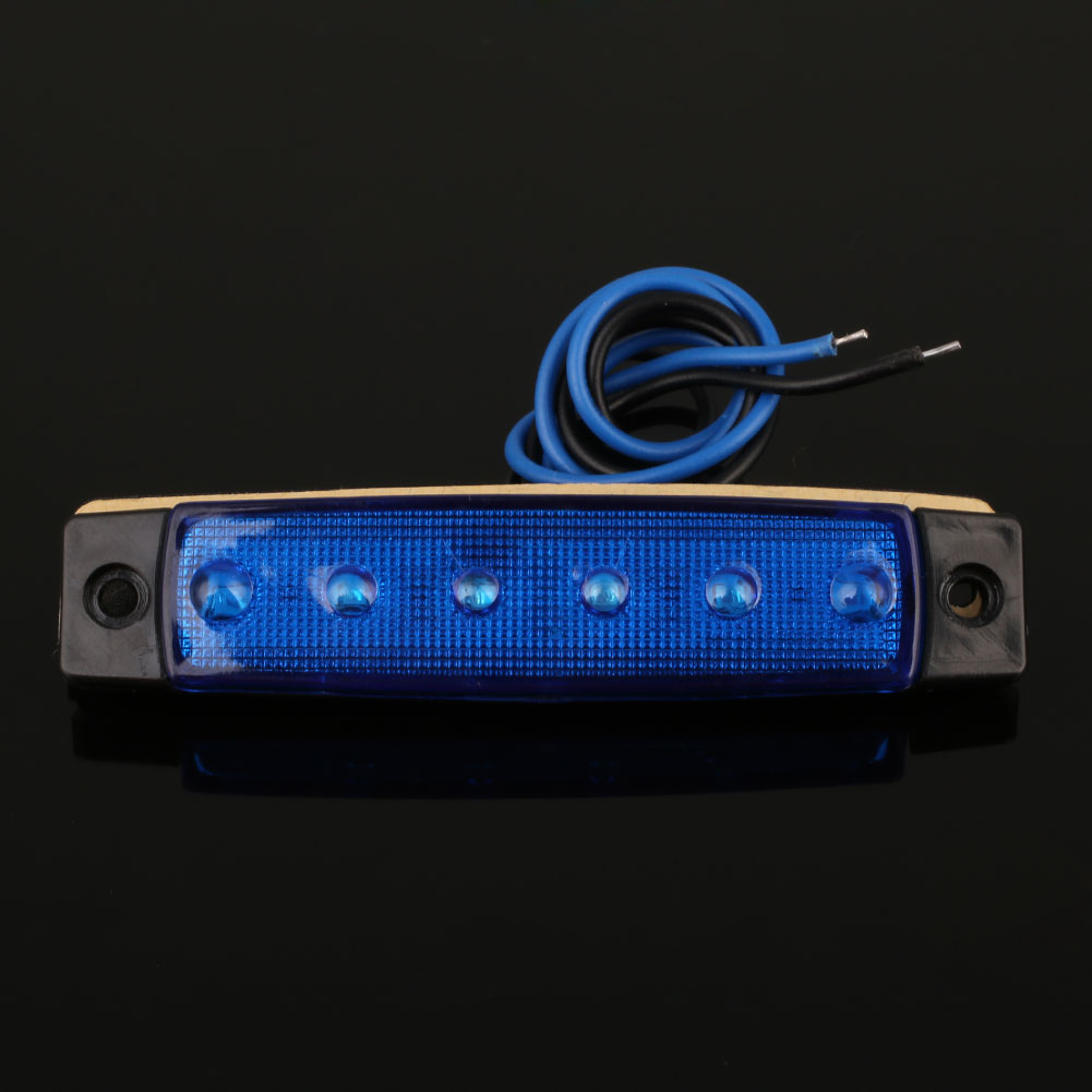 2F2B-6-LED-Car-Truck-Van-Trailer-Side-Marker-Light-Clearly-Indicator-Lamp-24V