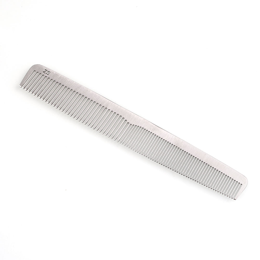 hair styling combs stainless steel ultra thin salon hair styling hairdresser 7677 | 82923 7 a