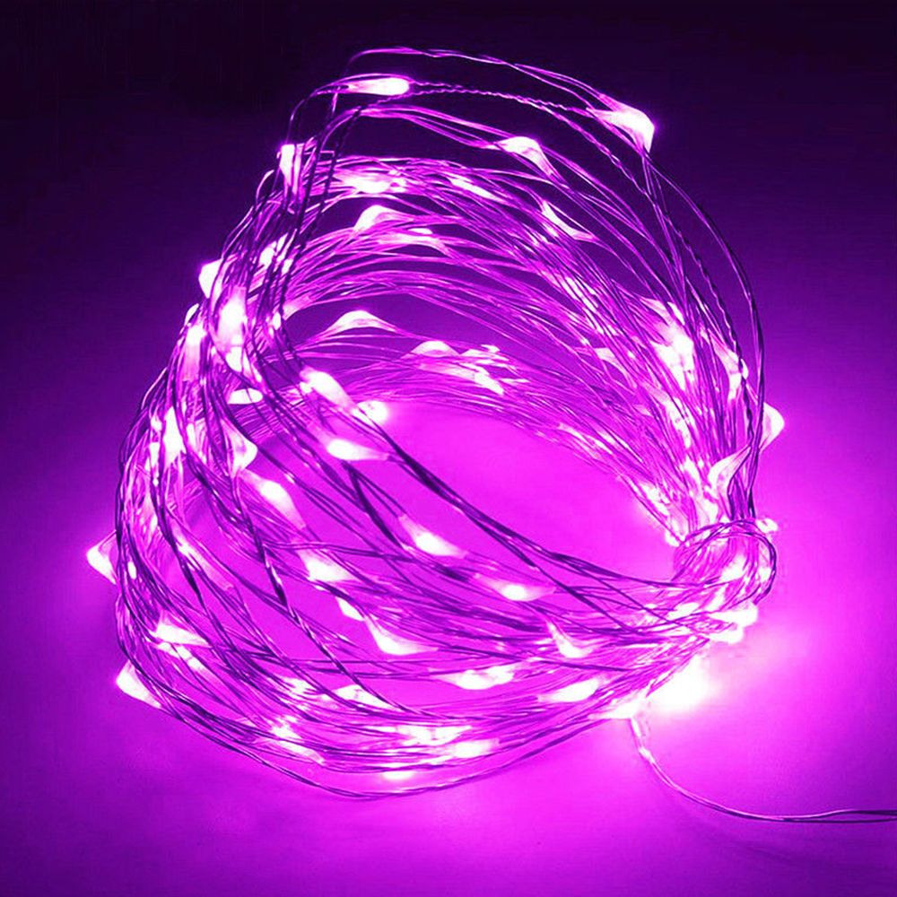 10m 100 led lichterkette drahtlichterkette fernbedienung xmas batterie garten ebay. Black Bedroom Furniture Sets. Home Design Ideas