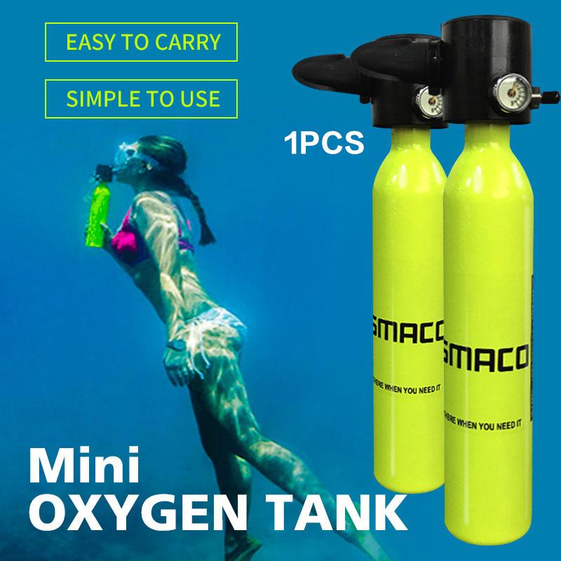 374A 2018 2018 Mini Sauerstoffflasche Freiheit Atmen Mini 2018 - Tauchen Tank f11fb4