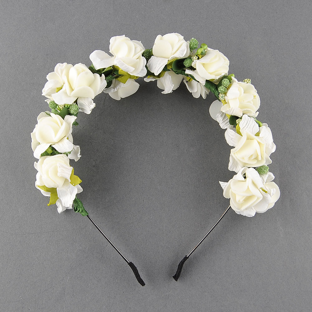 15eeaf1 flower garland floral bridal headband wedding prom festival shop categories mightylinksfo