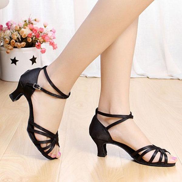 7FA6-Ladies-New-Women-039-s-Ballroom-Prom-Latin-Tango-Dance-Shoes-heeled-Salsa
