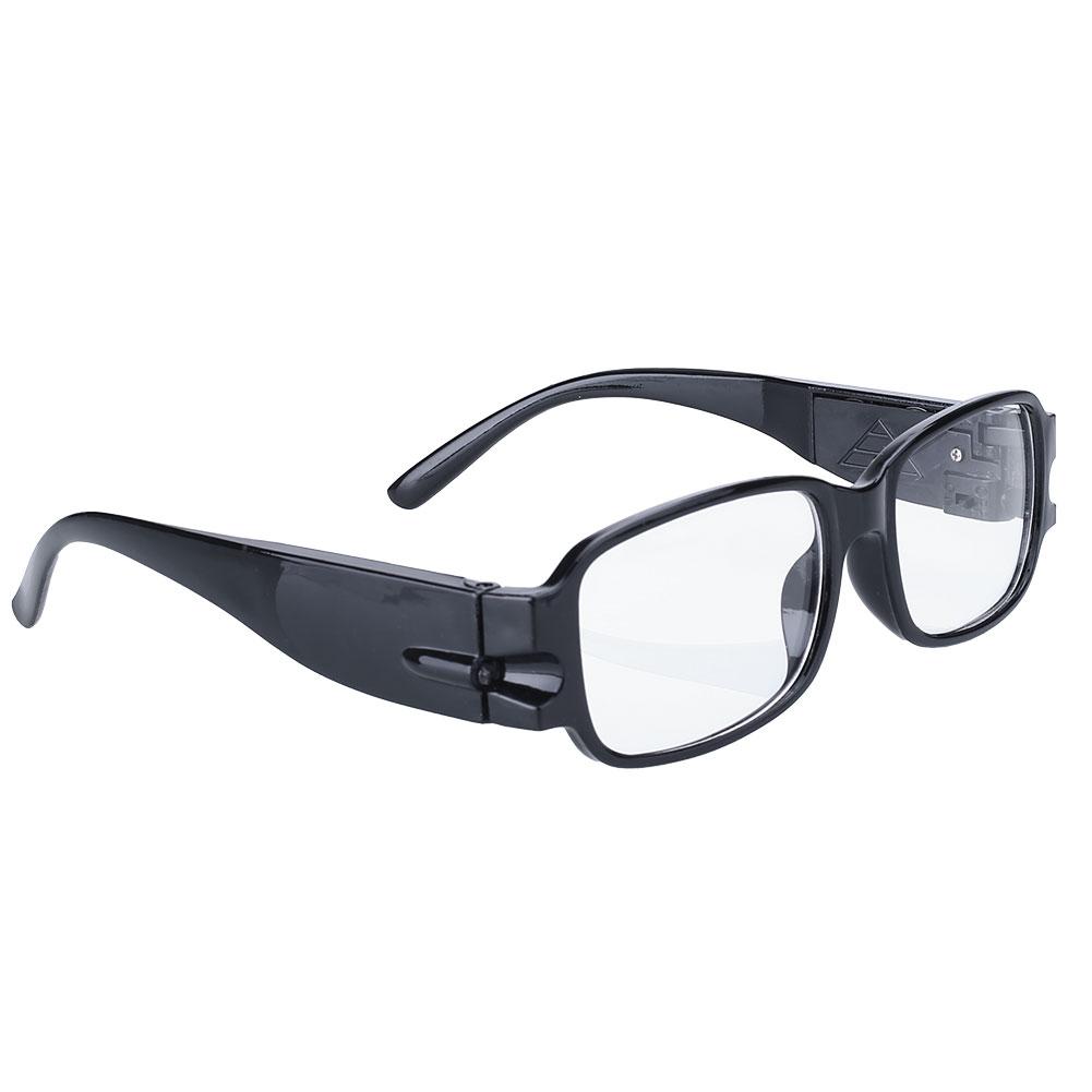 3876-Unisex-Rimmed-Reading-Glasses-Eyeglasses-With-LED-Light-Black-Portable