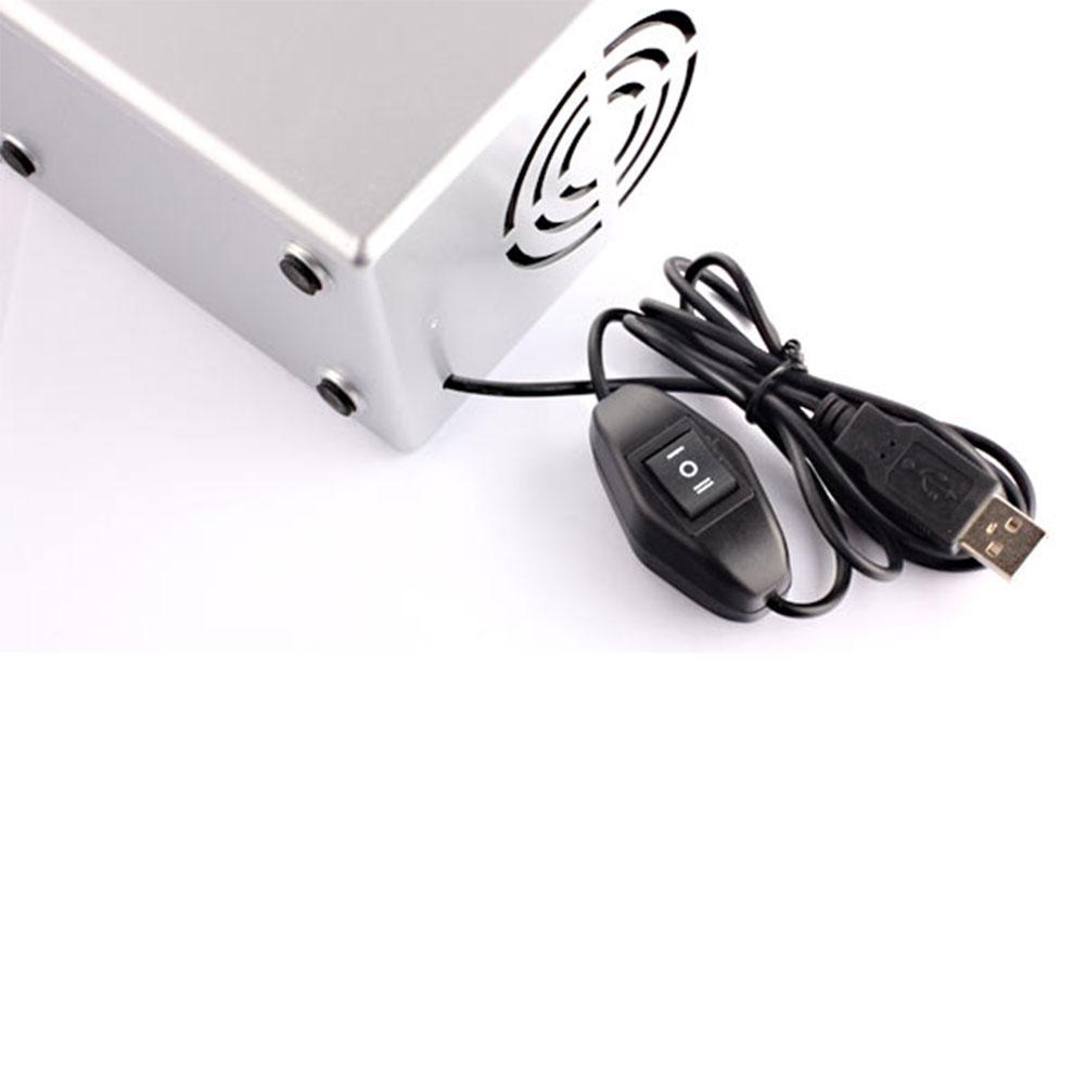 6858 Mini Usb Cooler Warmer Fridge Desktop Cooling Beverage Soda Drink White