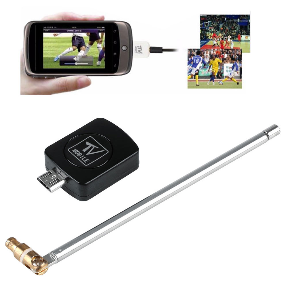 6686f62 mini usb dvb t digital tv tuner receiver for android smartphone tablet picclick uk. Black Bedroom Furniture Sets. Home Design Ideas