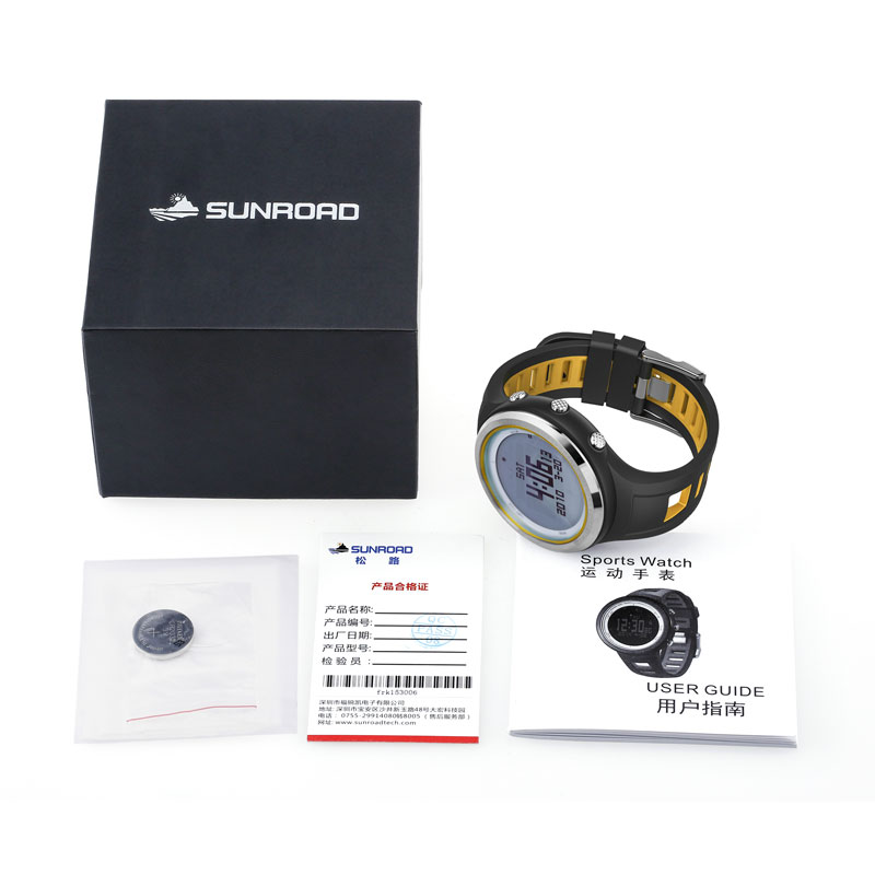 C6AC Sport Digital Watch FR800NA Compass Compass FR800NA Altimeter Barometer Thermometer Stopwat 06a9f1