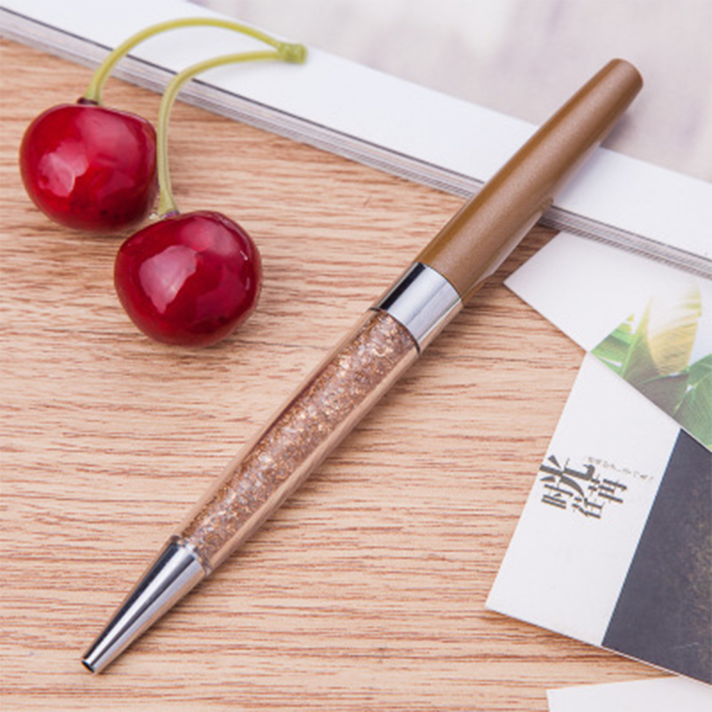 Rose-Gold-Crystalline-Stardust-Made-With-Swarovski-Crystals-Ballpoint-Pen-UK-NEW