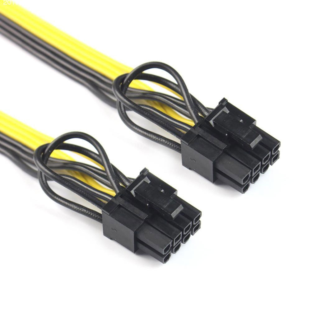 8Pin-Male-To-Dual-8Pin-6-2-Male-PCI-E-Mining-Modular-Power-Cable-Computer
