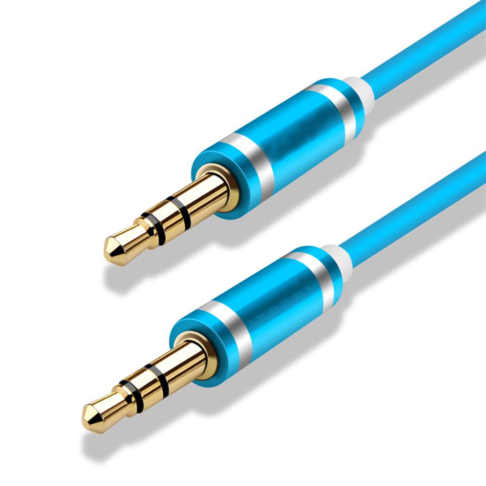8E5B 3.5mm Car AUX Male To Male Audio Cables Universal 1m Car ...