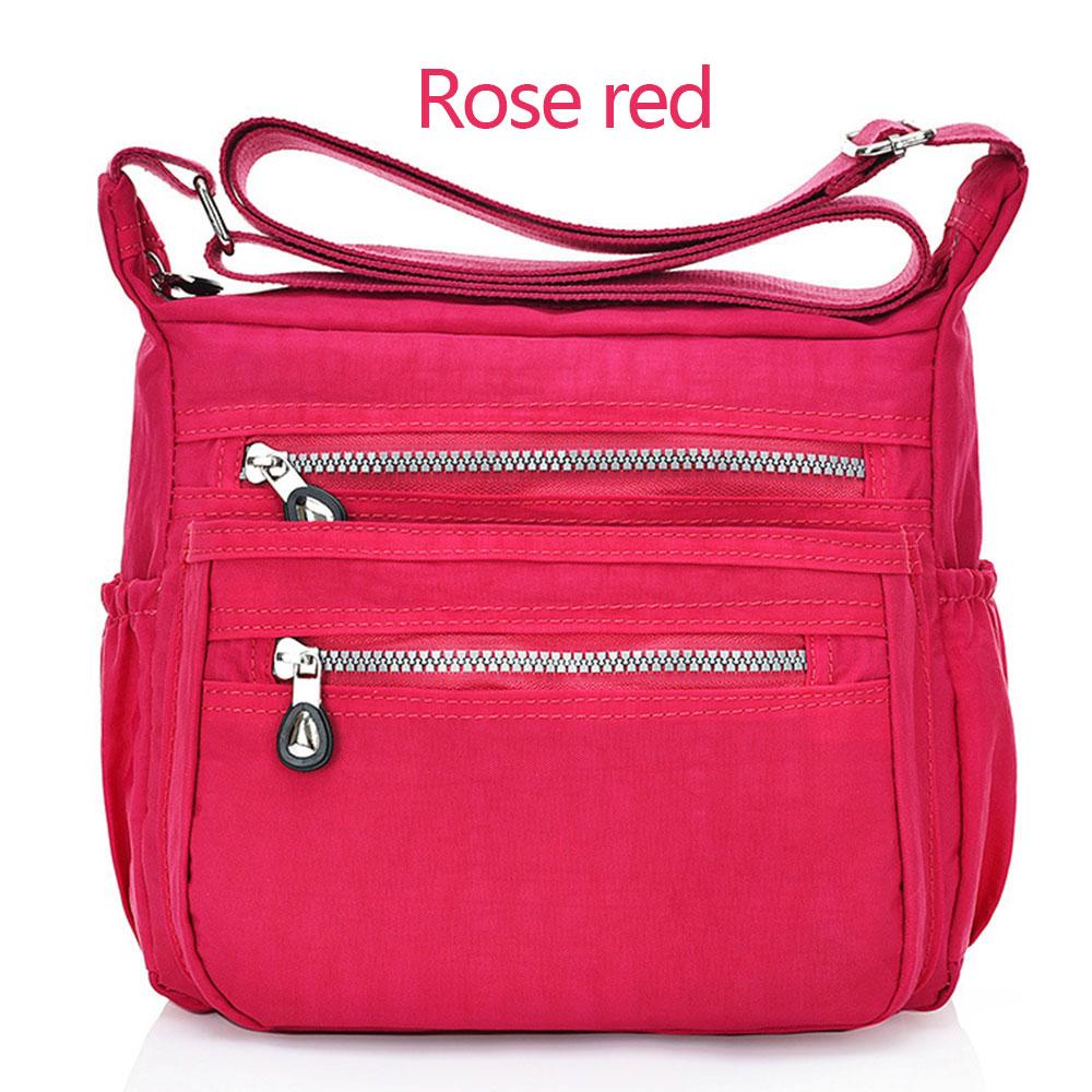 52DC-Solid-Color-Handbags-Messenger-Bags-Zippers-Teenager-Women-Satchel