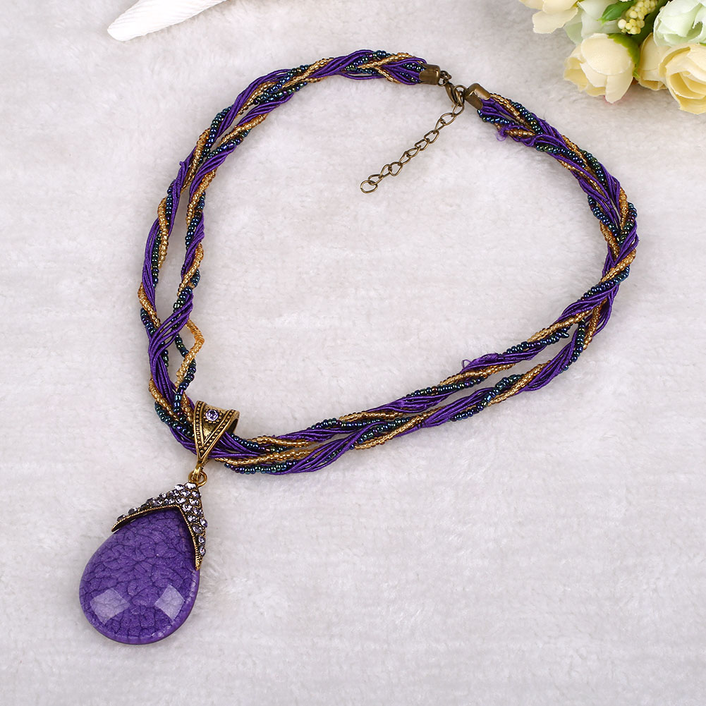 9553-Women-Alloy-Gem-Crystal-Multilayer-Beads-Handmade-Bohemia-Style-Necklace