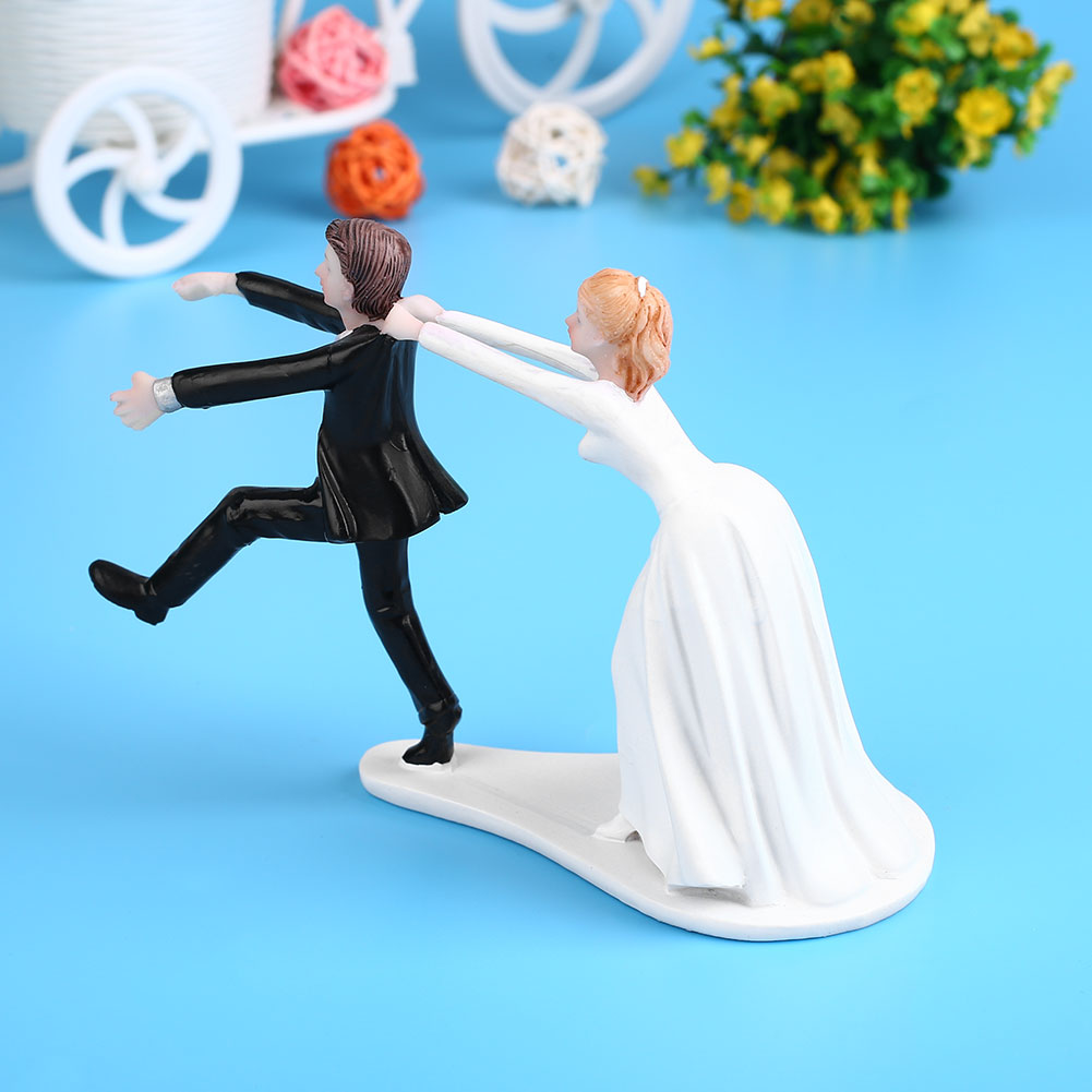 Interracial Tattooed Wedding Cake Topper By Erin