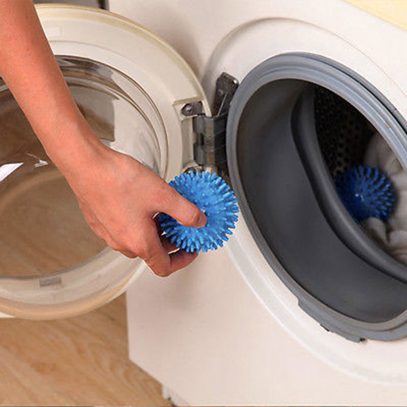 Plastic-Faster-Washing-Dryer-Balls-No-Chemical-Fabric-Wash-Clothes-Clean-67AF