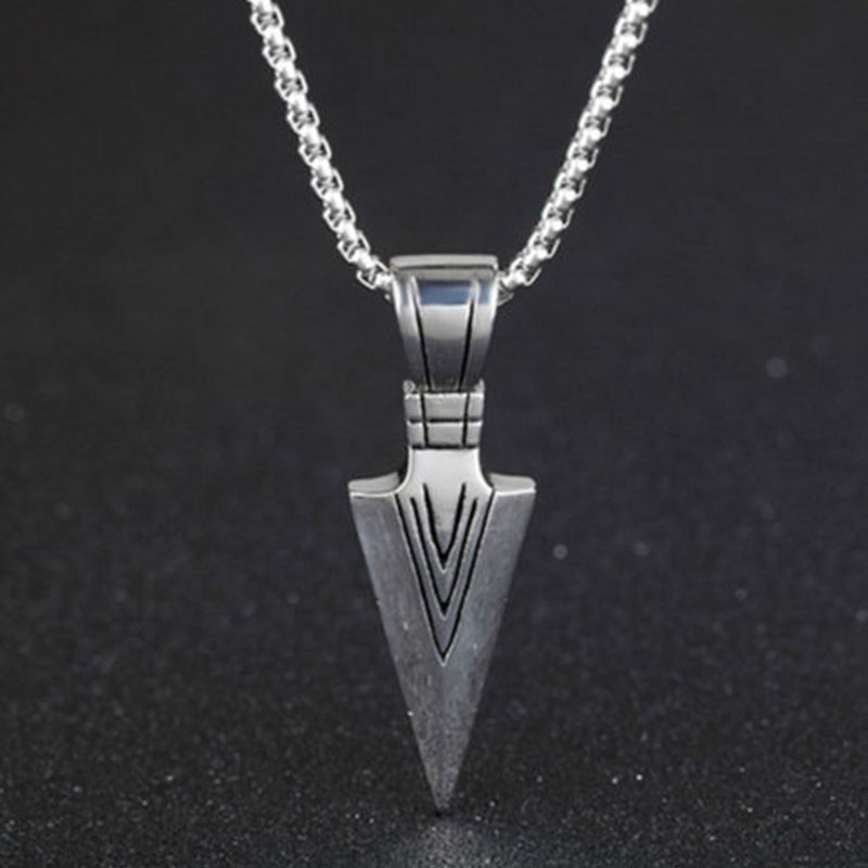 2EFB-Cool-Engraved-Arrow-Anchor-Geometric-Alloy-Pendant-Necklace-Jewelry-Gift