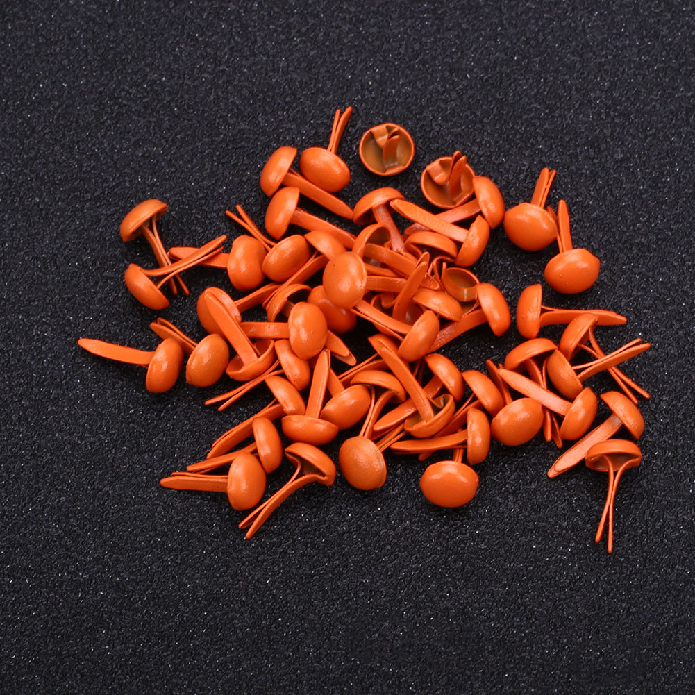 27ED-DIY-50PCS-8Color-Metal-Round-Rotating-Buttons-Brads-Accessories-Painting