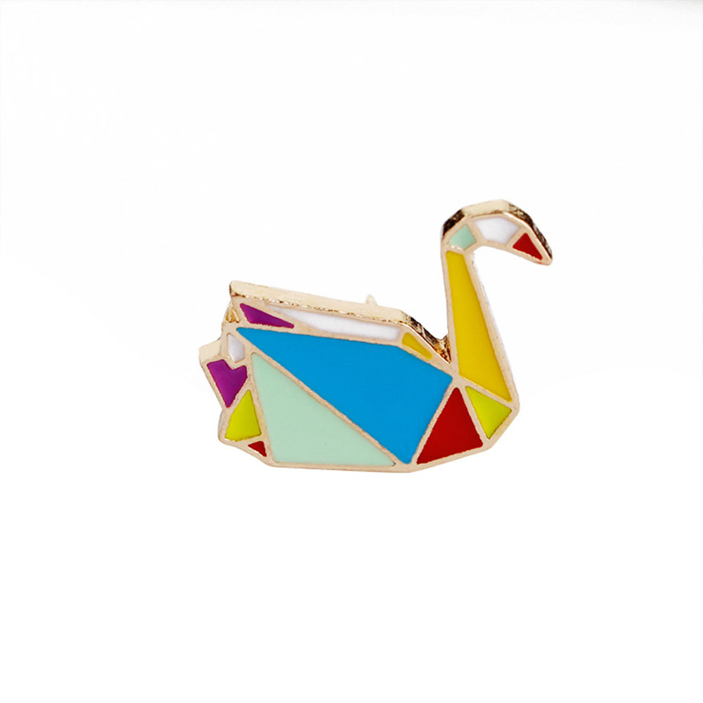 1127-Geometric-Lines-Animal-Cartoon-Creative-Colorful-Brooch-Accessories-Party