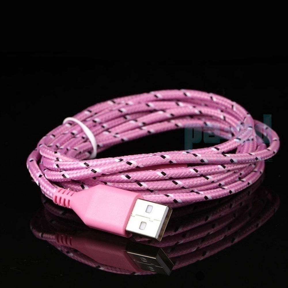 23B4-Braided-Nylon-2M-Universal-Micro-USB-Cable-Connector-Recharge-Cell-Phone