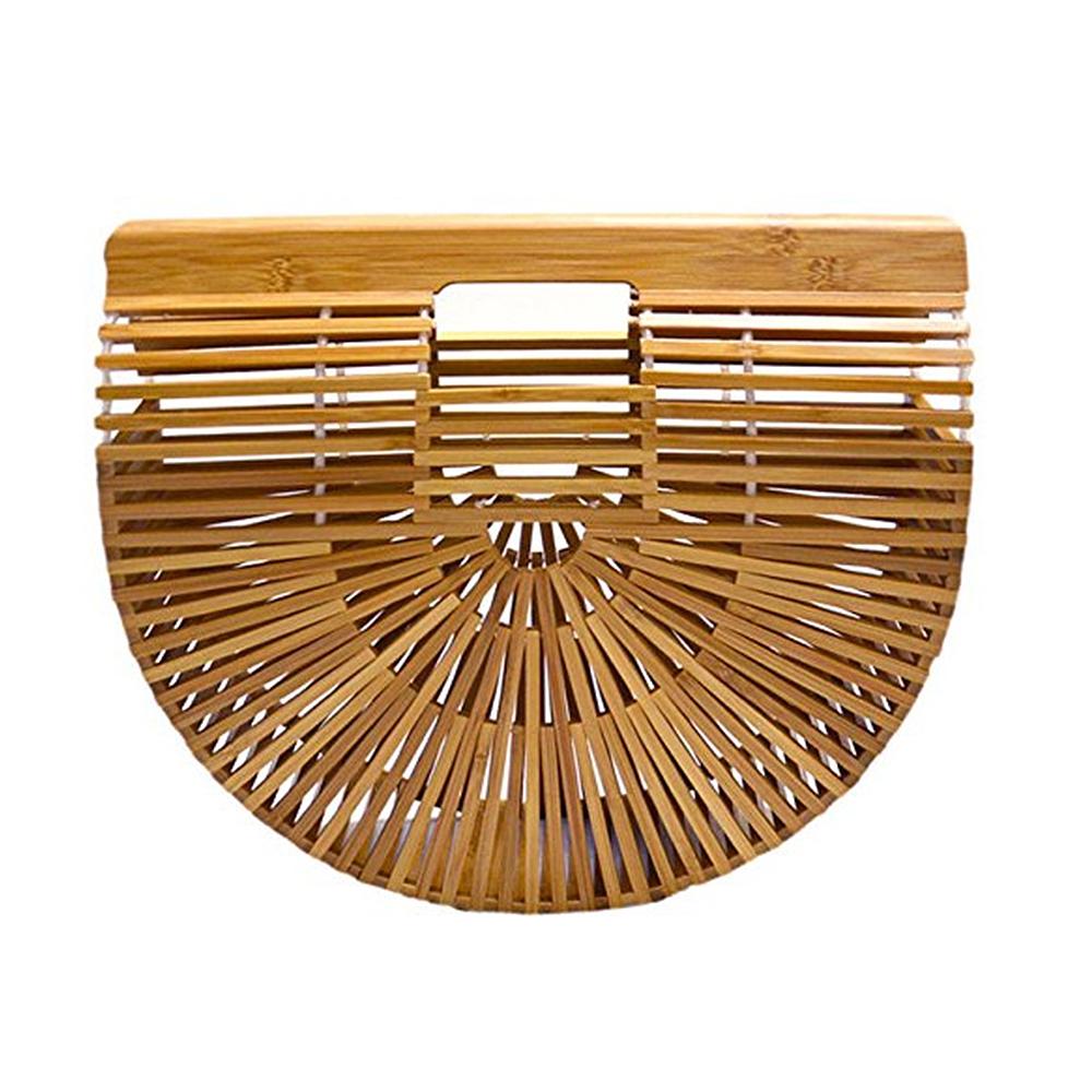 Retro-Bamboo-Straw-Handbag-Lady-Large-Tote-Bags-Shoulder-Bag-Cult-Gaia-Gift-Best