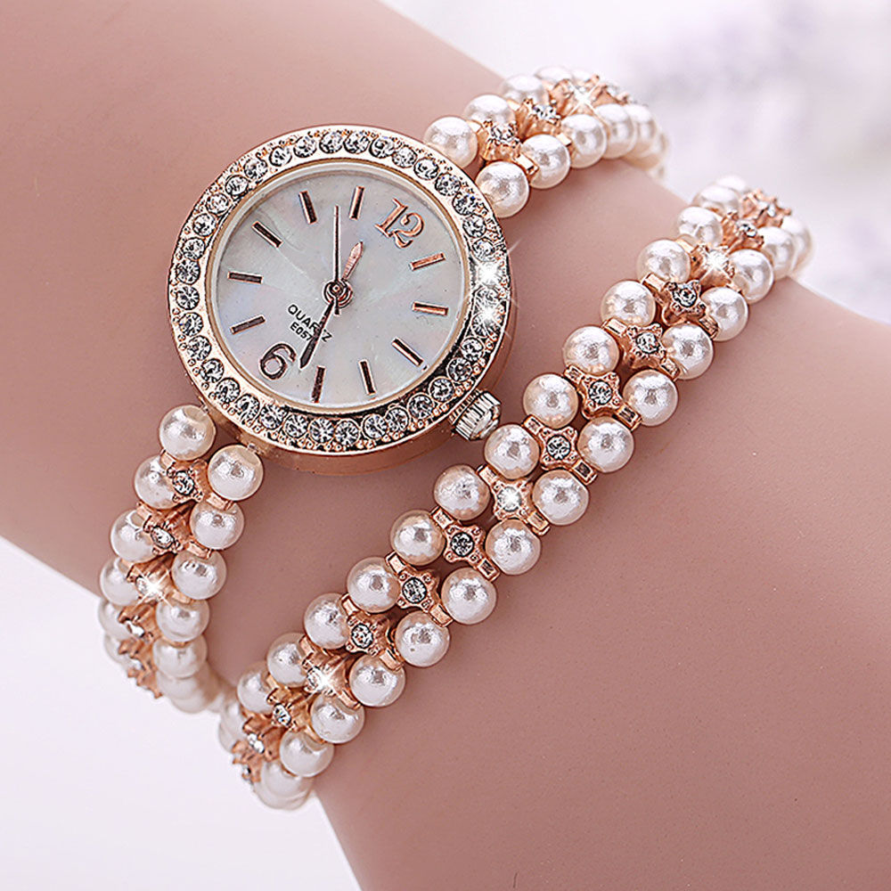 DC22-Diamond-Decorative-Woman-Watch-Lady-Round-Watch-Women-039-S-Watch-Wristwatches
