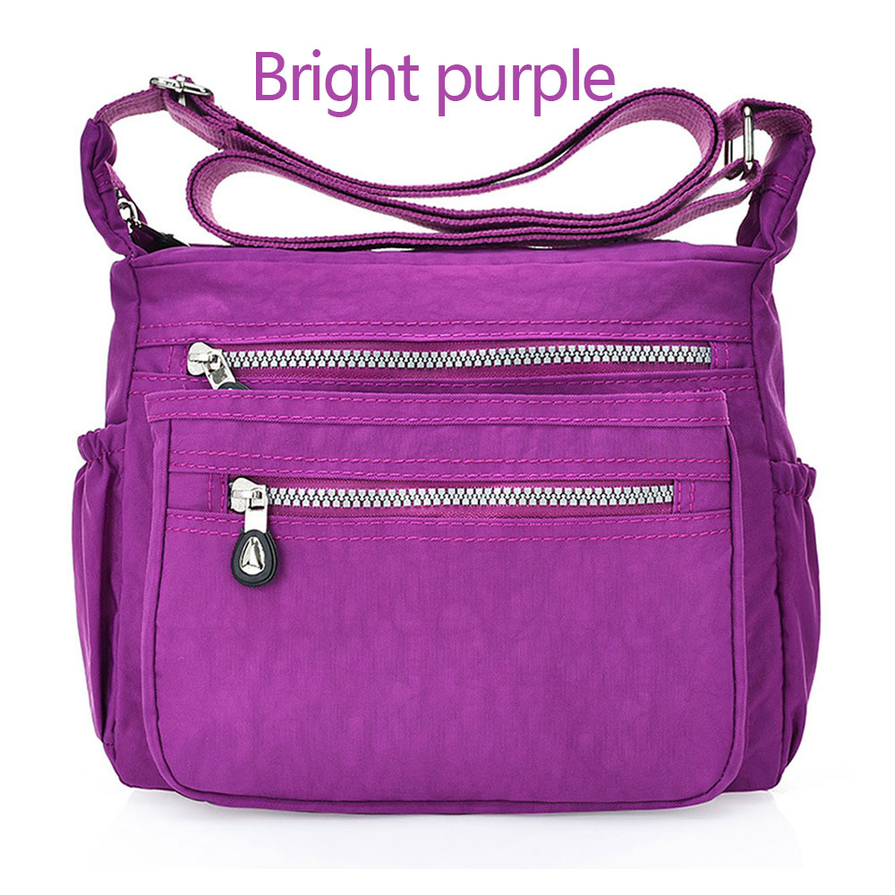 8555-Teenager-Messenger-Bags-Satchel-Simple-Solid-Color-Nylon-Travel-Wallet