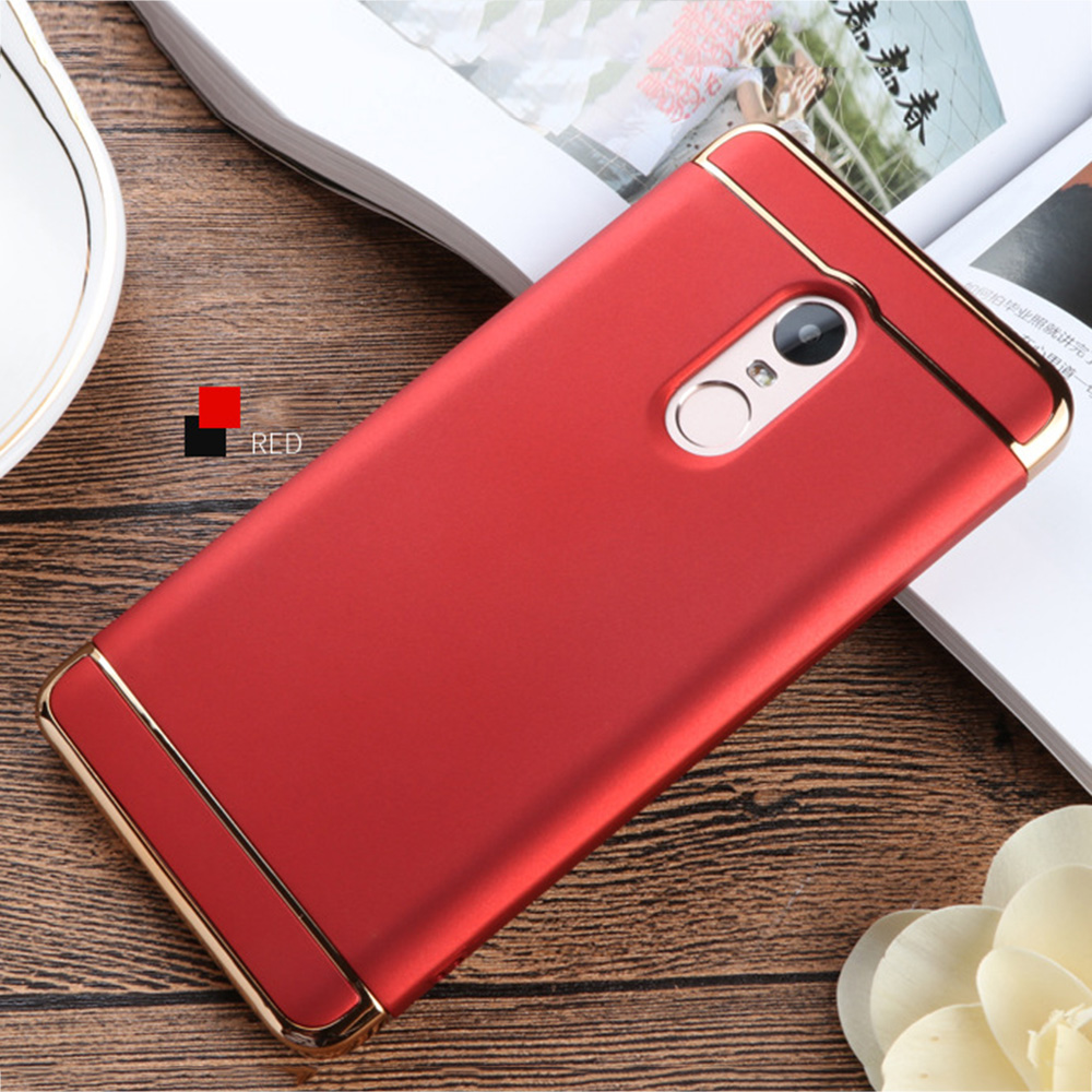 290A-PCHardMobilePhoneBackCoverSlimCaseShell-Anti-Drop-Fr-Xiaomi-Redmi-Note4