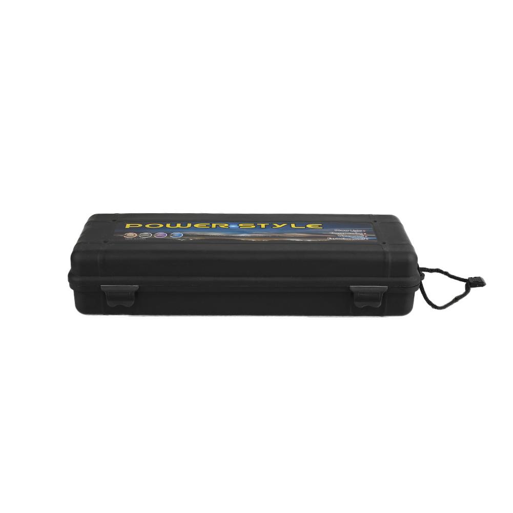 A136-Black-Plastic-Flashlight-Torch-Light-Pointer-Tool-Storage-Box-2color-7