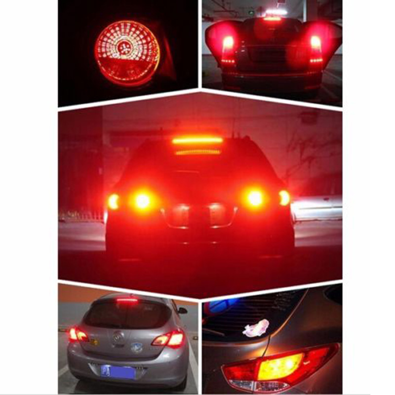 8441 P21W 1157 BA15S Car Auto Turn Signal Light 5730 SMD 33LED Red Parking Back